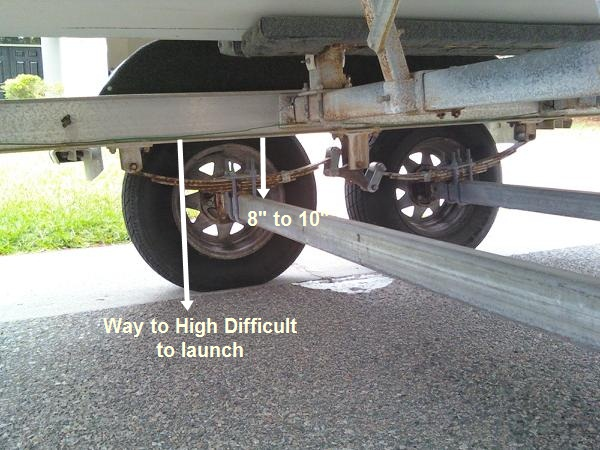 how to raise a trailer height