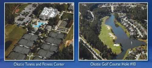 Sun City Hilton Head Clubhouse and Tennis Courts!